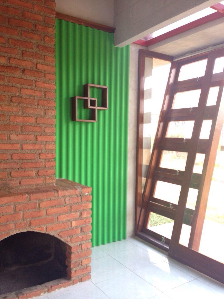 Villa ciwalen- contemporary color vs natural material   Contact: sketsadelik@gmail.com