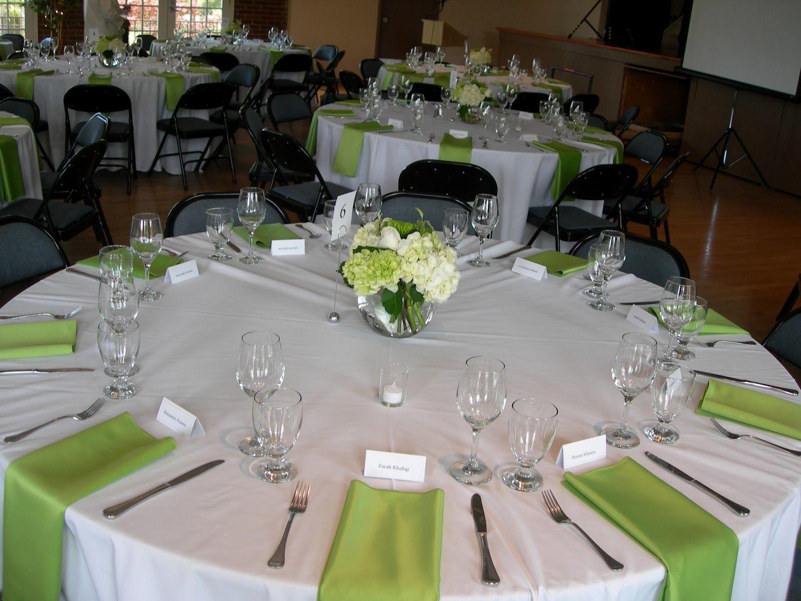 table setting for weddings | guestbook table and gift table were set ...