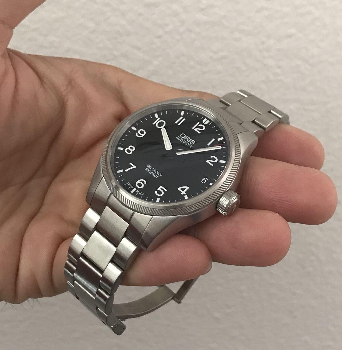 Oris Propilot 41mm Black Dial Vintage Watches Oris Watches Watches For Men