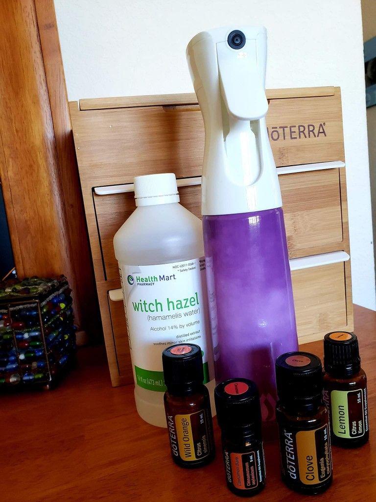 🍃🍂🍁🍎☕ DIY Mulled Cider Room Spray (10 oz): 🍋24 drops
