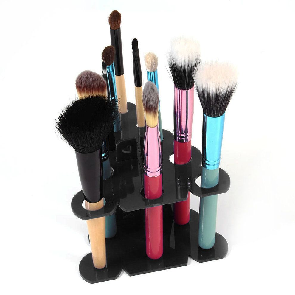 Best New Brushes Rack Display Shelf Cosmetics Makeup Brush 640 x 480