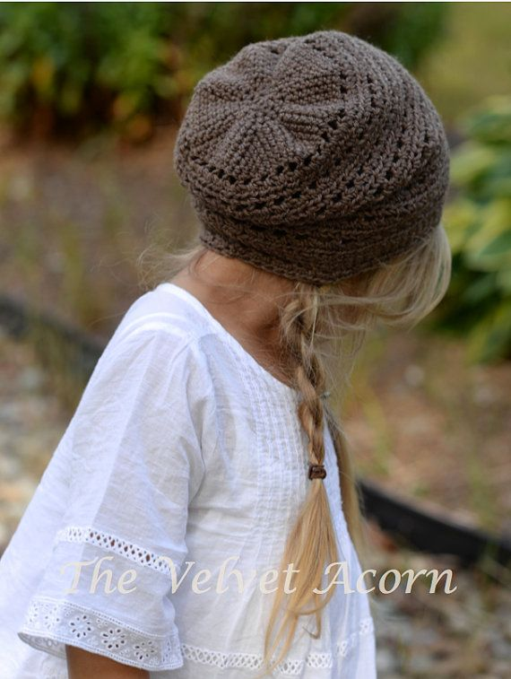 CROCHET PATTERN-The Cade Cap (Toddler, Child, Adult sizes) | Gorros ...