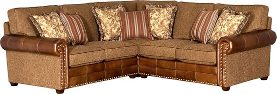 Southwestern Style Sectional From Mayo Furniture Rustic