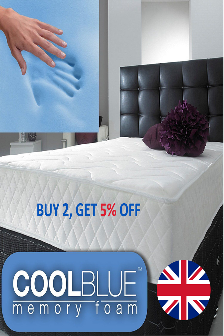Small Super King Mattress 73 99 Gbp Memory Spring Memory Foam Single Small Double King