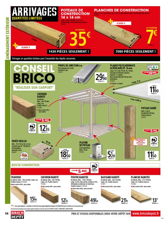Brico Depot Renovation Amenagement Cataloguespromo Com Depot Catalogue En Ligne Plancher