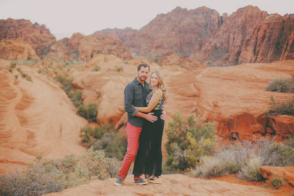Snow canyon state park engagement photos. Unique and amazing desert photo location. www.gideonphoto.com