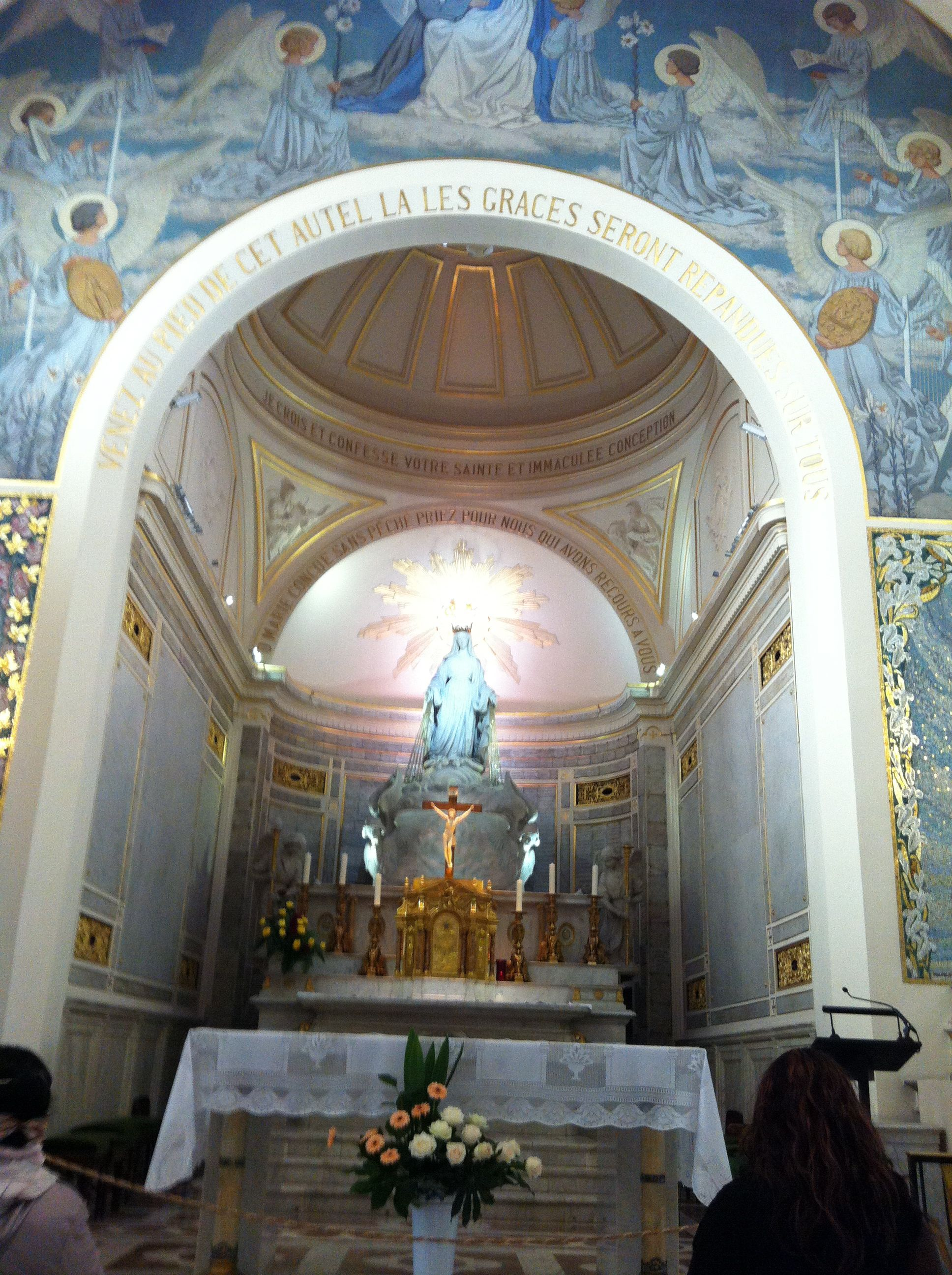 chapel of the miraculous medal paris 140 rue du bac. Black Bedroom Furniture Sets. Home Design Ideas