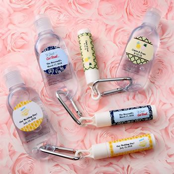 Personalized Expressions Set Of Lip Balm And Hand Sanitizer Hand