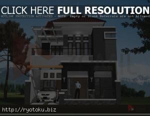 desain rumah minimalis 2 lantai 005