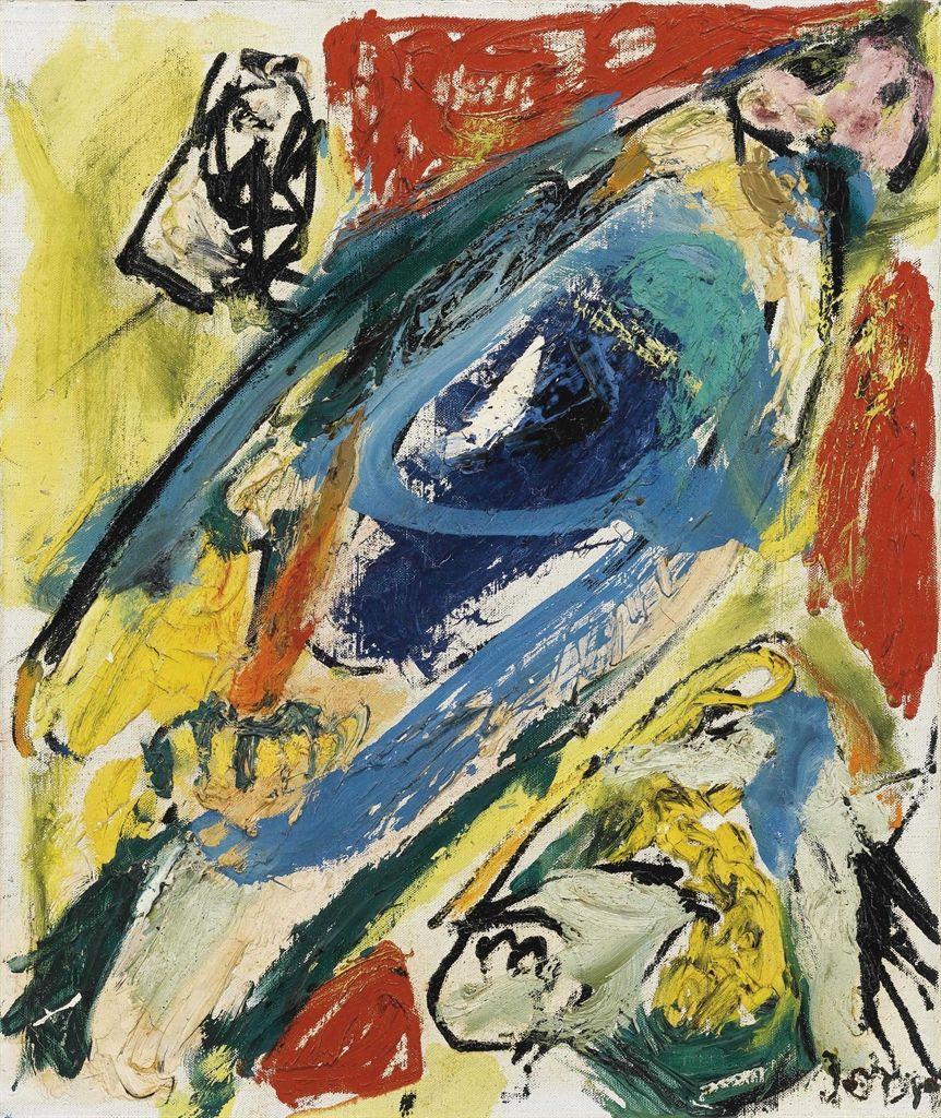 Hippoforme 1960 By Asger Jorn Art Art Inspiration Scandinavian Art