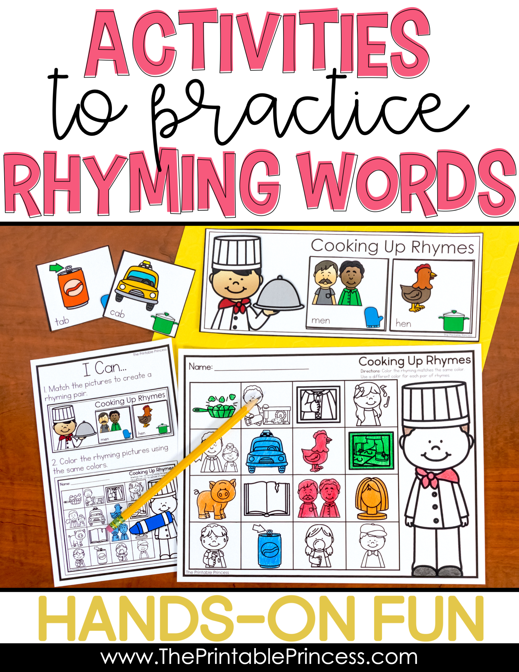 Rhyming Activities Bundle