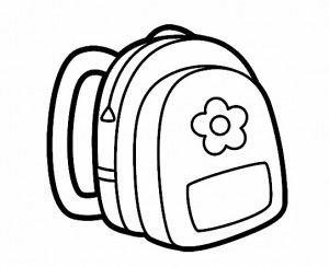 school lunch bag coloring pages - photo#33