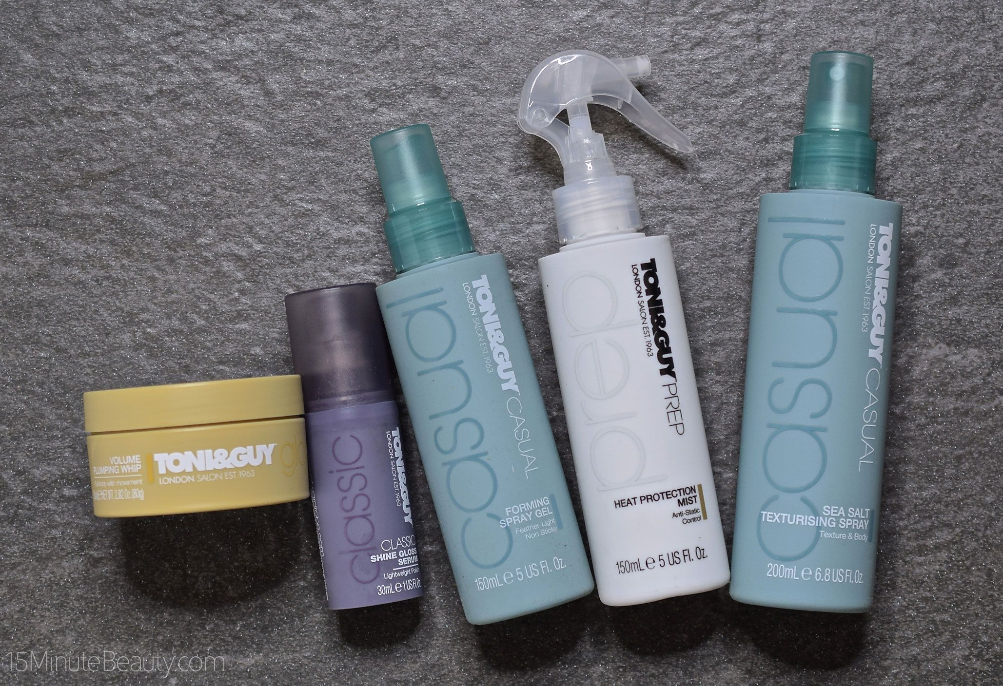 Toni Guy Styling Products Taking Them For A Spin Toni Guy Best Beauty Tips Good Hair Day