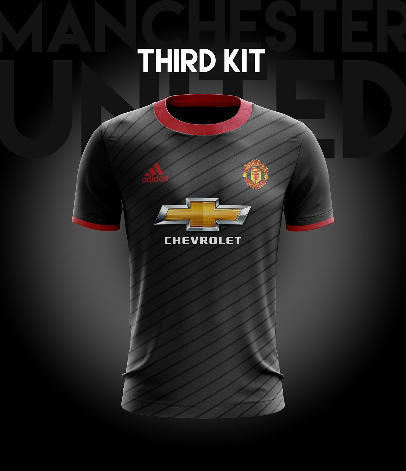d2e38045fd8 I designed football kits for Manchester United for the upcoming season 18 19.  And this is the result of how it would look like if i could design a kit  for ...