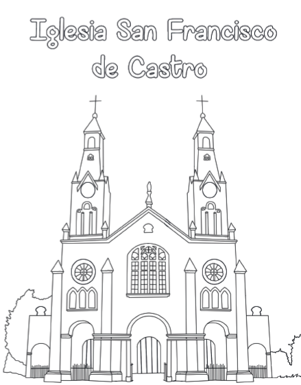 Libro para colorear misiones chilo cvx crea pinterest for Sillas para colorear