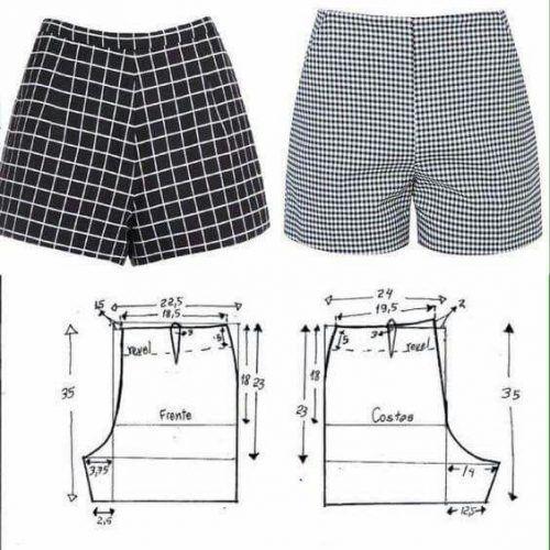 Aprende a realizar cómodos pantalones cortos (Short) en tu maquina de coser
