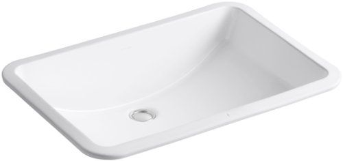 Kohler K 2215 0 Ladena Undercounter Bathroom Sink White Find Out More About The Great Product At The Image Link Rectangular Sink Bathroom Sink