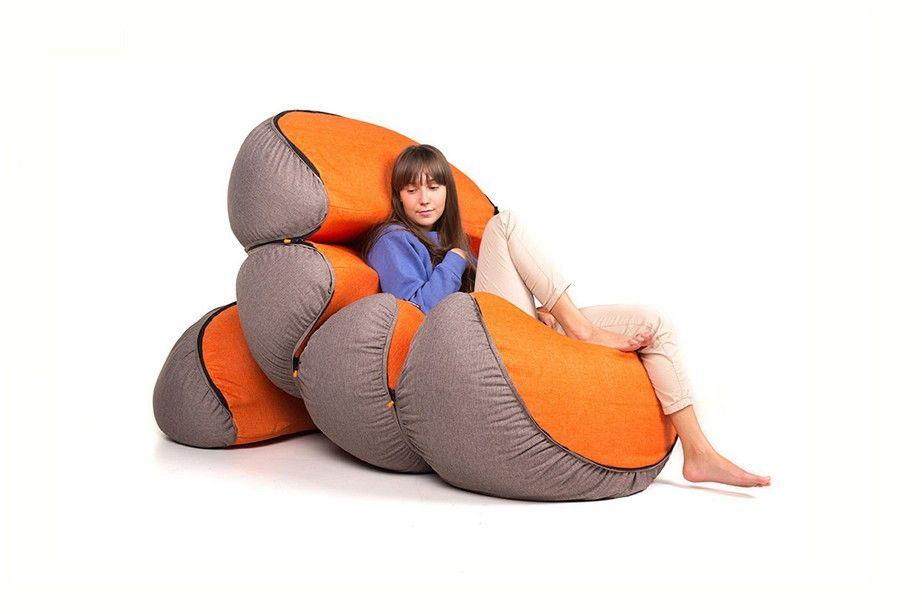 Мандарин – комплект из мягких подушек с возможностью ...