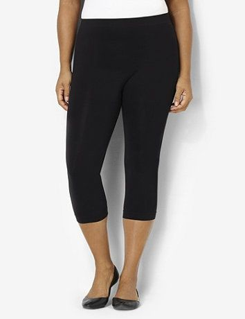 0b024a850fe08 Our must-have seamless legging now comes in a capri length! Control top  design