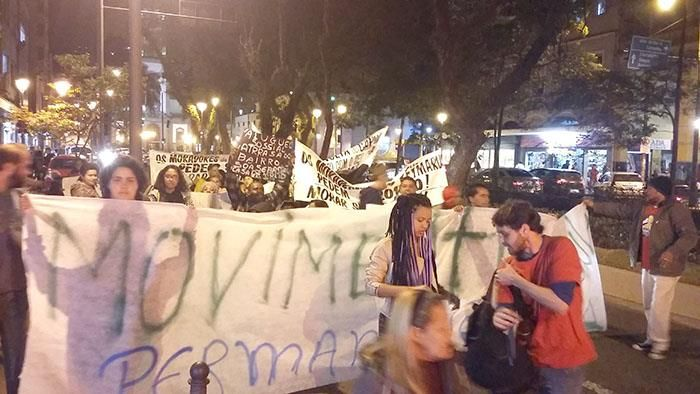 CONSTRUINDO COMUNIDADES RESILIENTES: V.C Fazem Nova Passeata na Rua do Imperador.