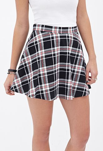 f93abcf8ef8f89 Tartan Plaid Skater Skirt | FOREVER 21 - 2000083503 | my style