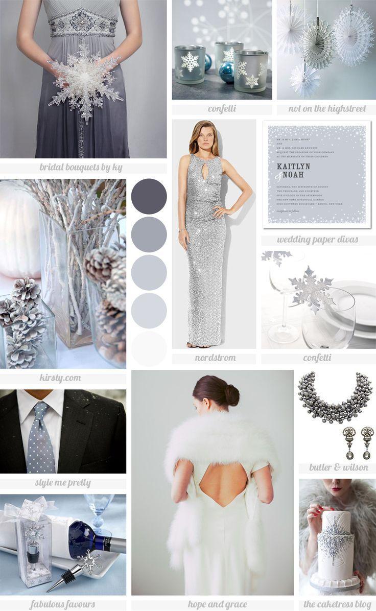 Winter Wonderland wedding inspiration board | Weddings | Pinterest ...