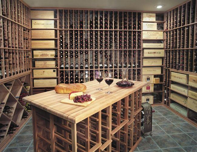 Custom Wine Cellar Racking by American Wine Essentials & Custom Wine Cellar Racking by American Wine Essentials | Wine racks ...