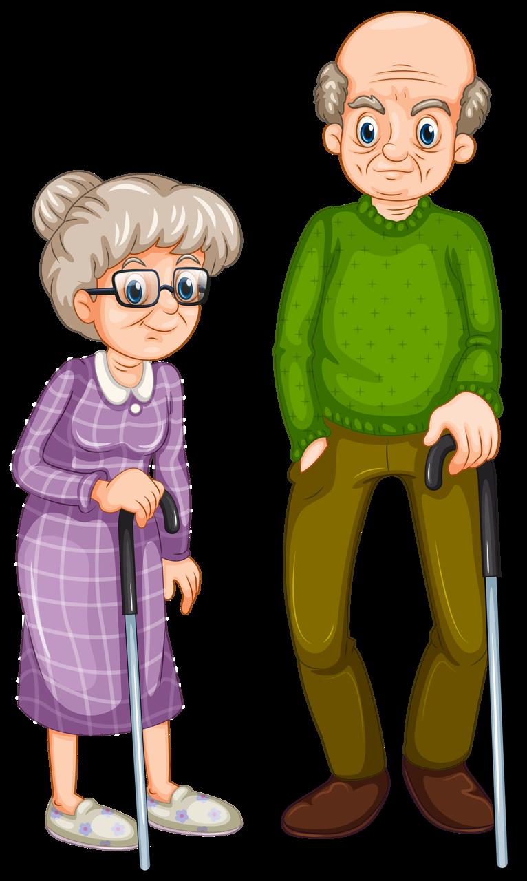 Картинка бабушка и дедушка для детей, сделать