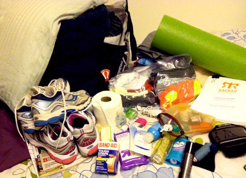 What to pack for the Ragnar Relay