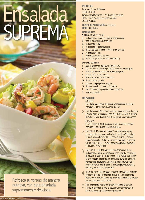 #ClippedOnIssuu from Edicion Verano! Revista Cocina al Maximo