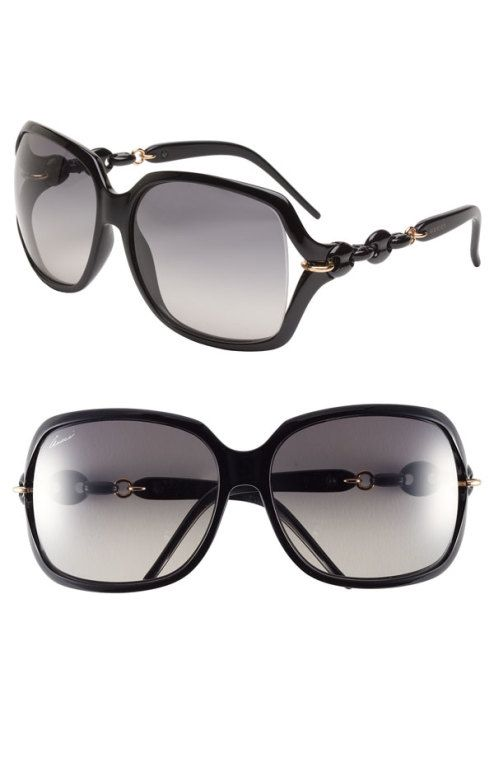 dd4fbd569410d Gucci -  Marina Chain  59mm Oversized Sunglasses --  Rounded