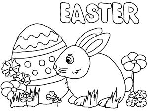 Preschool Easter Coloring Book Preschool Easter Egg Coloring ...