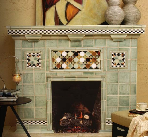 5 Fireplace Tile Ideas