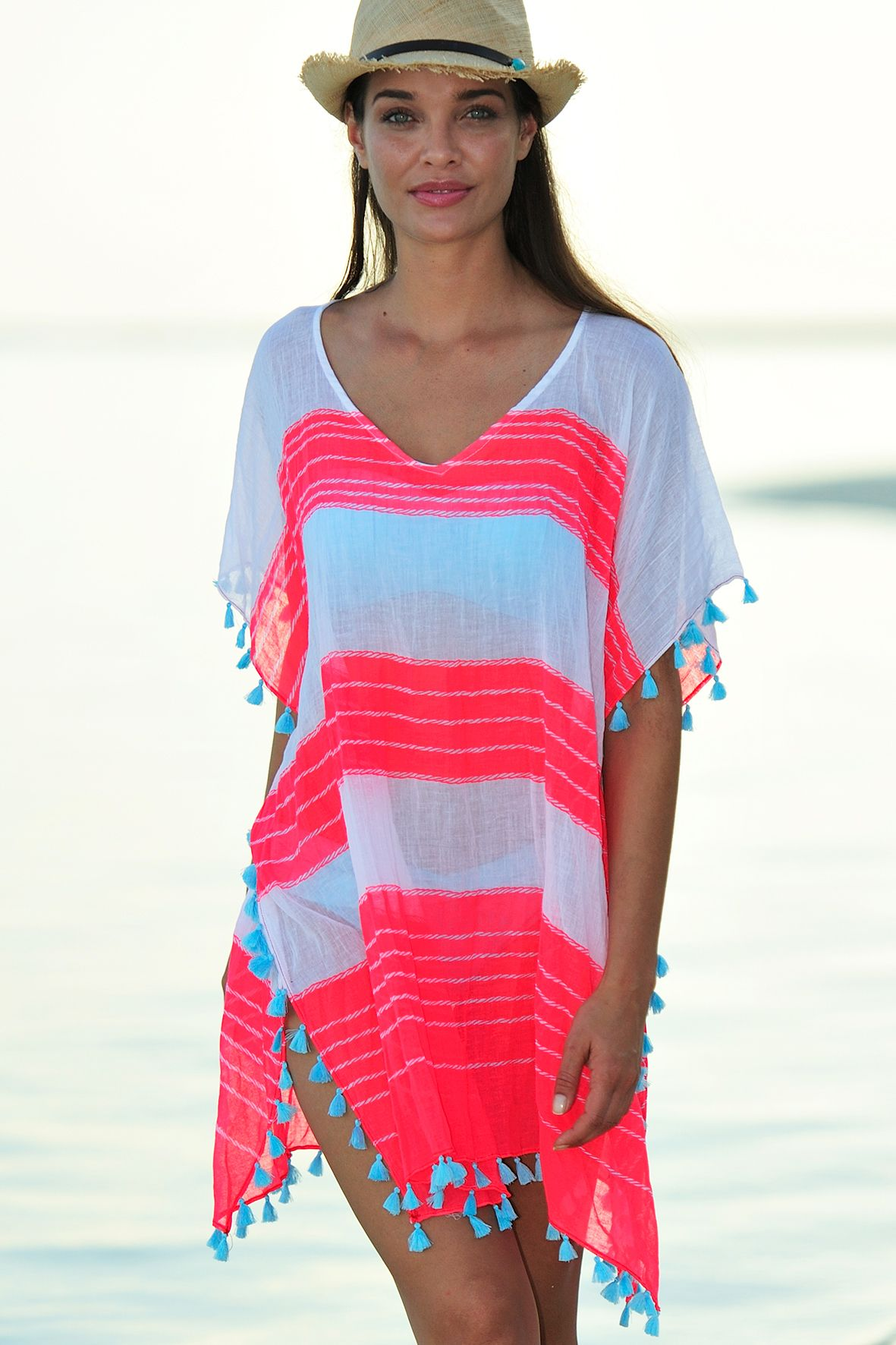 Designer Kaftans and Beach Cover-ups by Seafolly and other designer brands