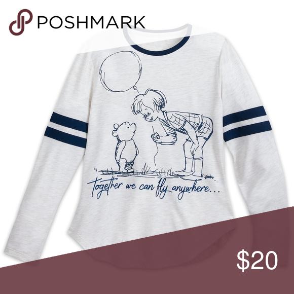 81bcb94f Tees · Disney Winnie the Pooh Long Sleeve Shirt NWT Disney store exclusive Women's  Winnie the Pooh Christopher