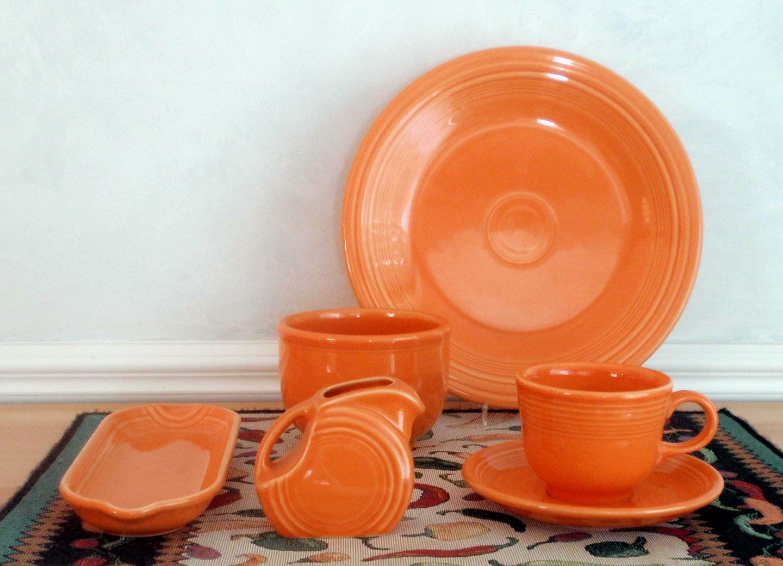 My Tangerine Fiesta Dinnerware Orange You Glad I Didn T Say