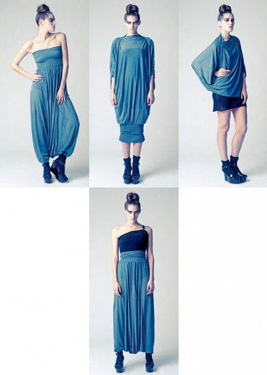 LEMURIA: A UNIQUE DRESS TO LOOK DIFFERENT | Sewing | Ropa, Ropa ...