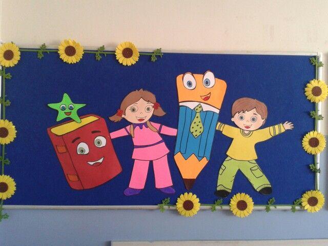 Eğitim 1sınıf Hazırlık School Board Decoration Teacher