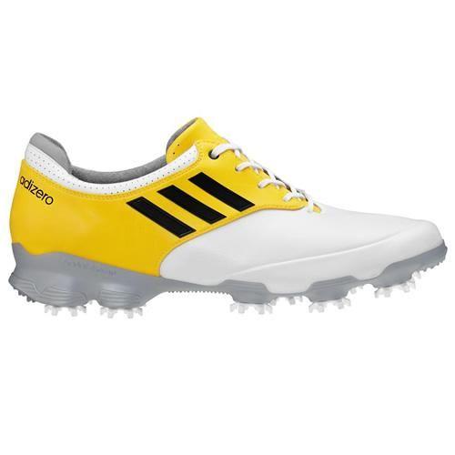 adidas Men's Adizero Tour Golf Shoe,Running White/Running White/Vivid W US