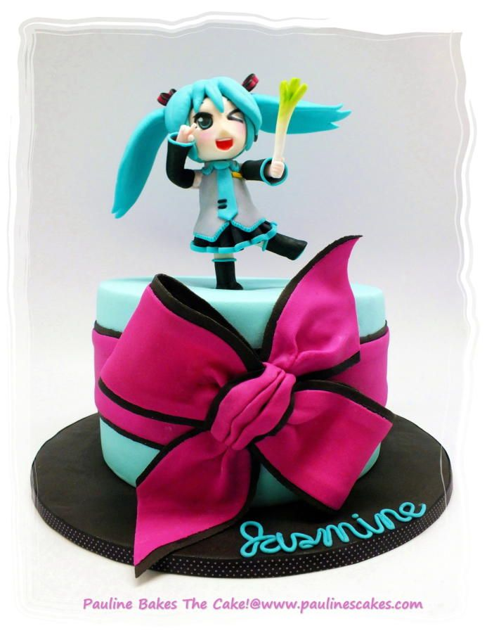 "Kawaii ""Po Pi Po"" Hatsune Miku For Jasmine!"