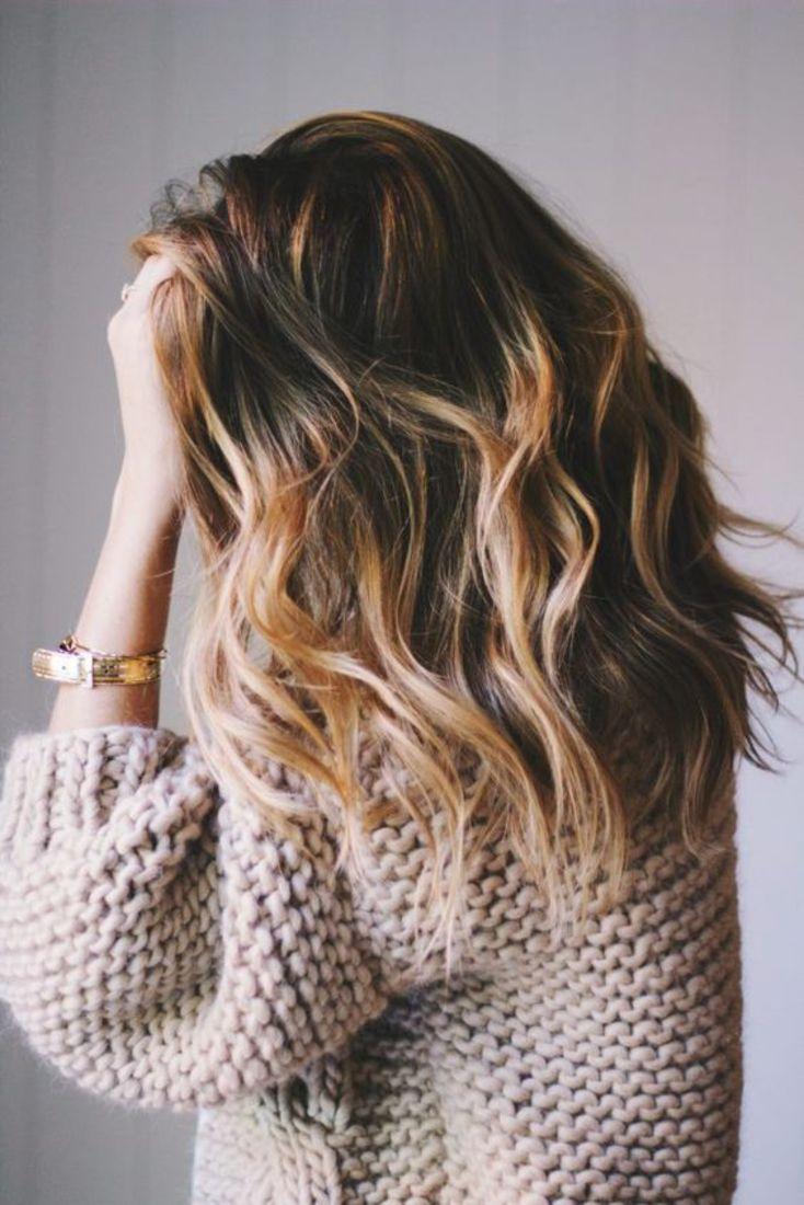 Balayage Miel Sur Cheveux Bruns Carre