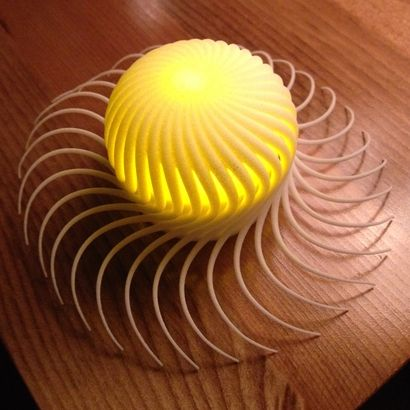 3d Printed Lamp On Sculpteo Com Lampen Drucken 3d Druck