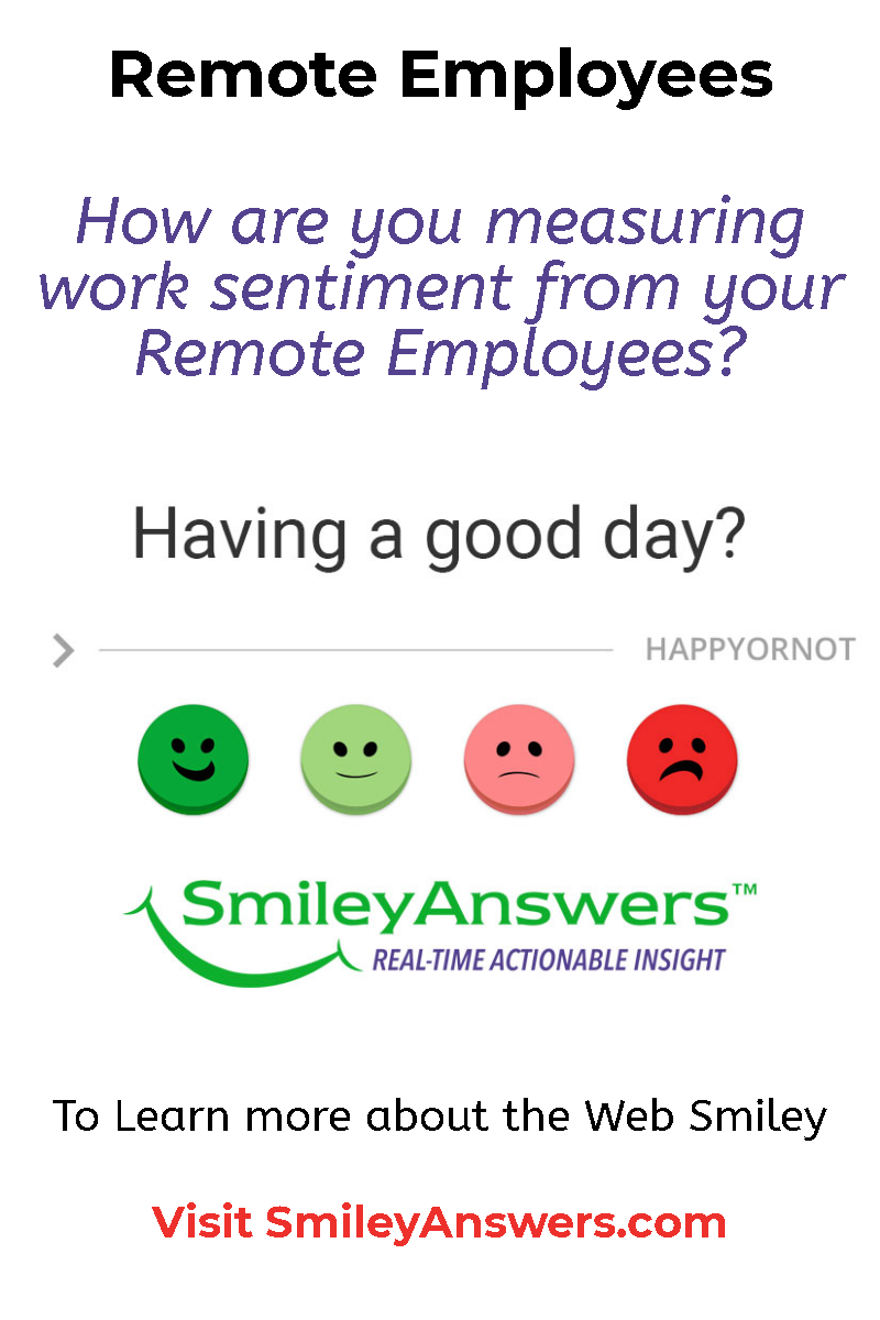 Employee Satisfaction Are your employees happy at work