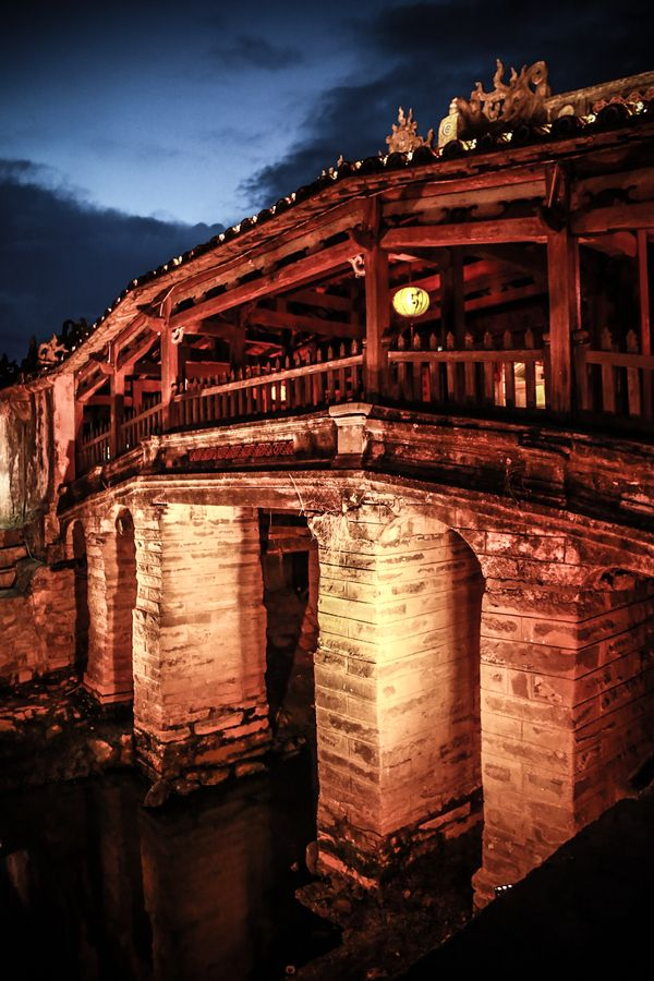 Japanese Bridge - Hoi  An - Vietnam