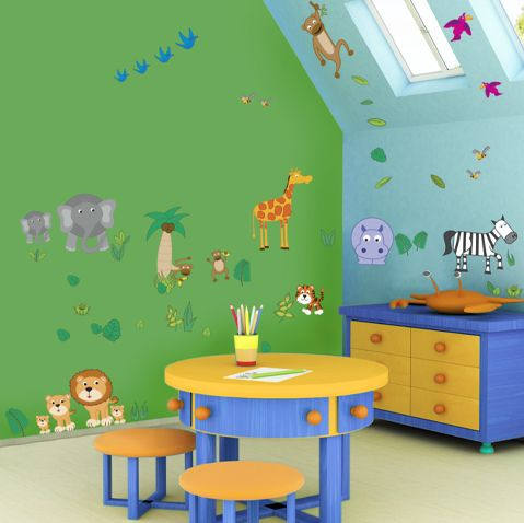 Children S Room Decorating Ideas Removable Wall Art Kids