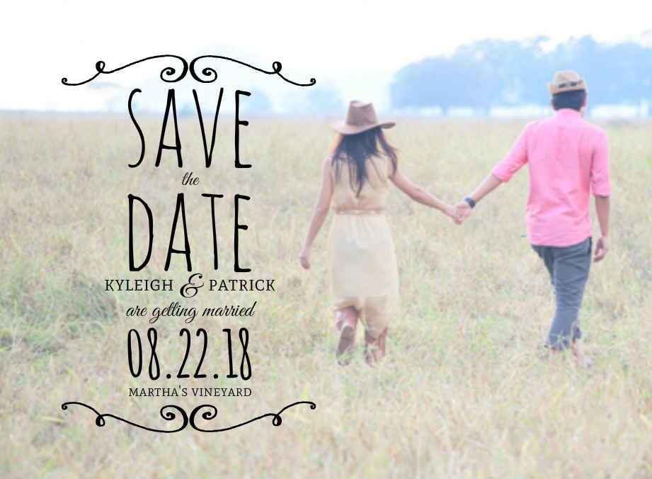 Country Save The Date Ideas Rustic Photo Ideas Wording Samples – Save the Date Wedding Picture Ideas