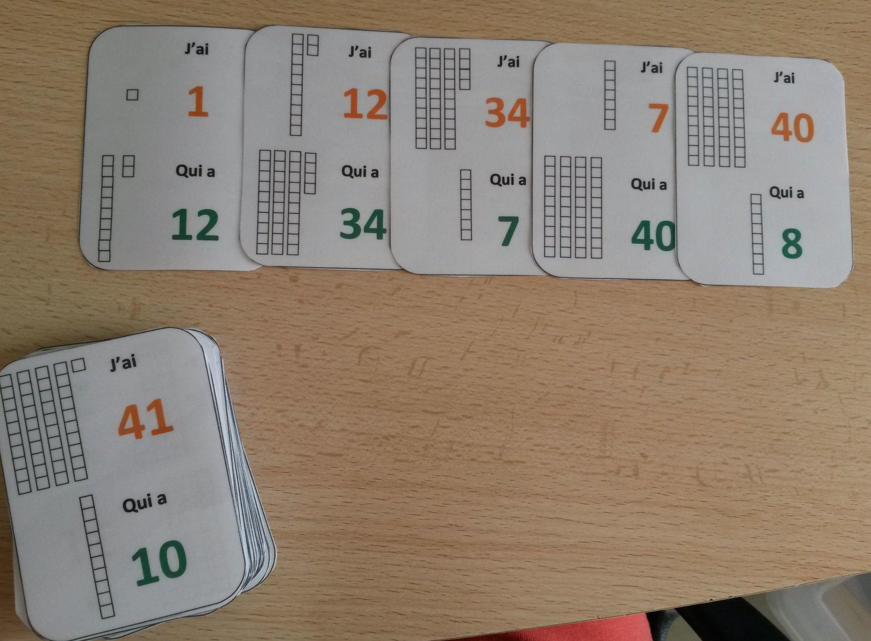 Un jeu de cartes pour apprendre le nom des nombres | Math