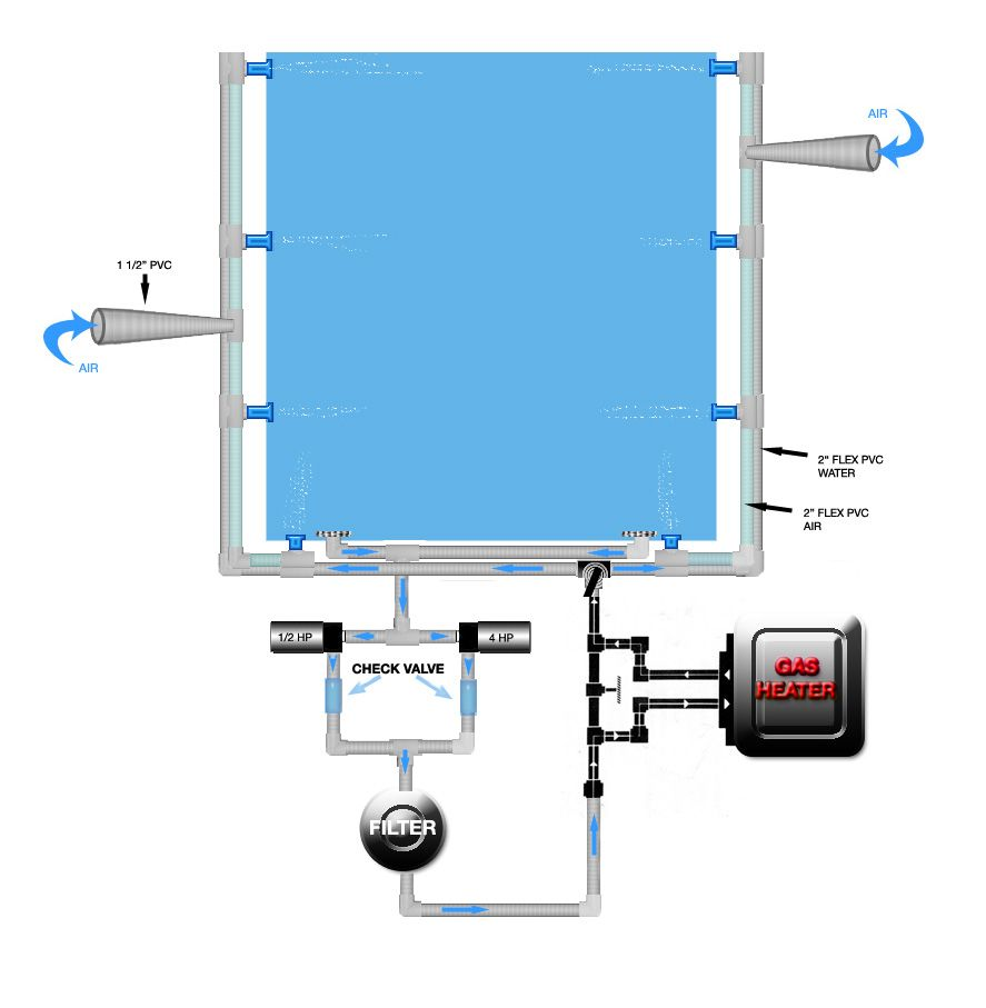 hight resolution of spa plumbing diagram