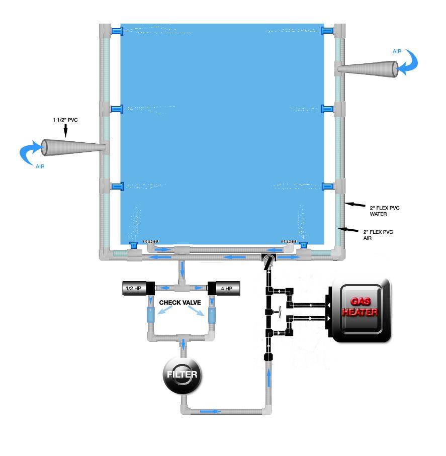 Spa Plumbing Diagram Hot Tub Tub Hot Tub Repair