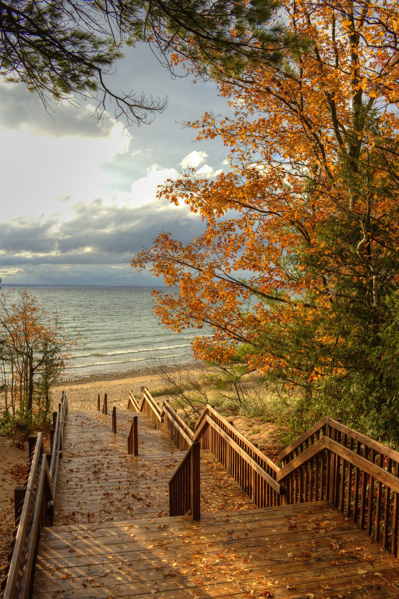 Barnes Park - Lake Michigan - Antrim County, Michigan, USA ...